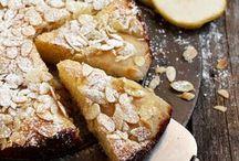 tartas de pera