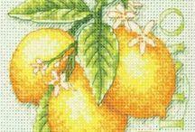 Fruit Cross Stitch / by Magnolia Mia