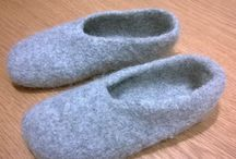 Felt slipper pattern