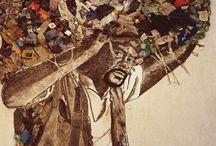 Vik Muniz (déchets), la estetica, se define según cada individuo, se aprecia el arte hecho , con basura se admira y se aprecia.