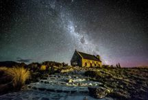 Lake Tekapo / Picturesque by day and dazzling by night