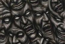 Dark and creepy