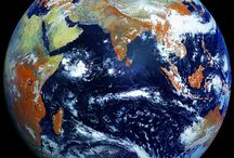 Earth maps and from satellites
