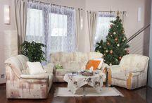 Proměny obývacích pokojů / Změnit vzhled sedací soupravy je stejně snadné jako se převléknout. Obývací pokoj můžete měnit podle nálady, sezóny nebo módního trendu. Stačí mít elastické potahy.