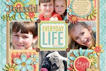 Scrapbook Layout Samples / by Lori Robinson