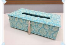 cartnnage for box tissue
