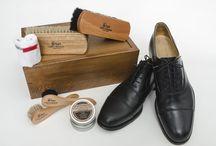shoeshine kits / Shoe shine kits and shoe care