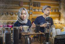 Barista Coffee Shop Couple 4