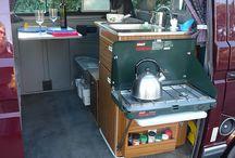VW camper interior ideas / by Jo Watts