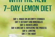 lemon drinks in the morning