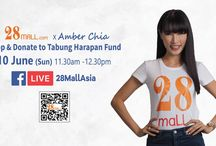 28Mall.com x Amber Chia, Shop & Donate to Tabung Harapan Fund