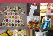 Little Girl Dresses, patterns & accessries
