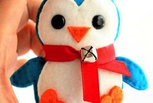 Baby penguins sewing patterns