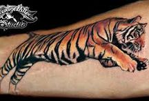 tiger tattooa