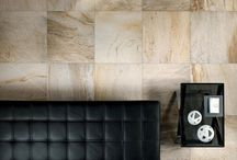 Stone Tiles / Latest natural stone look porcelain tiles. The look of travertine, limestone and more encompassed in a heat, scratch, water and stain resistant porcelain tile.