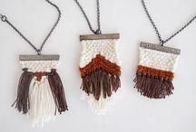 Textil ékszerek