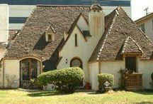 Storybook Houses..a different architecture / A storybook house refers to an architeual style popularized in 1920's in England and America. The storybook style is a nod toward Hollywood design technically called Provincial Revivalism and more commonly called Fairy Tale or Hansel and Gretel.