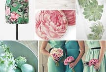 Mint & Pink Wedding / by Wedding & Style by CliodhnaL