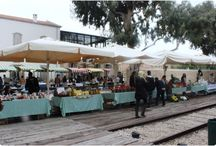 Market pictures in Israel