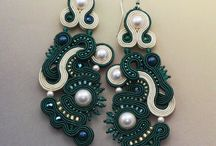 Earrings in Teal Mint Turquoise