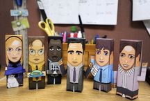 'The Office'  / Build a Paper Buddy of your favorite characters from 'The Office.'  / by YDR online