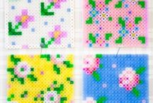 HAMA beads homedecor / HAMA beads homedecor