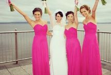 Perfectly Pink Blushing Bridesmaids