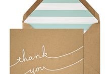 Thank You's, Wrappings, Odd and Ends