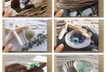 Sea Glass, Floral & Coastal Theme Greeting Cards and Calendars / Greeting Cards and Calendars for Sale