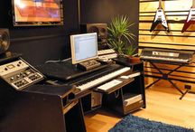 Home music studio / Decor