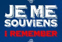 Je me souviens.