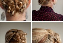 All kinds of Hairstyles! / Updos and hairdos for all!  / by TierrA DrollingeR