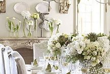 tres chic: dining