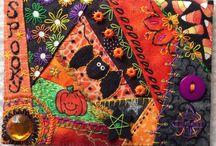 crazy quilt - halloween