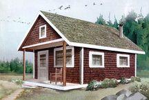 Cabin Plan Ideas / by Heather Bruggeman
