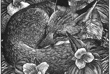 eastern woodblock prints