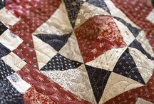 Quilt Red White & Blue