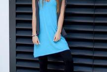 Lehké dámské letní šaty / tunika světle modré