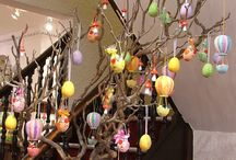 Easter decoration / Easter interior and table