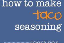 Sauces,  spices, dressings etc.