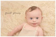 Quiet Graces Studio Sitting through 12 Month Baby Wardrobe / by Quiet Graces Photography