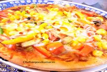 Pizza / Quick and easy Pizza Recipes by chef sanjeev kumar