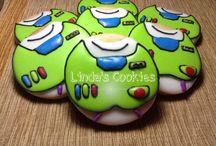 Animated/Disney cookies