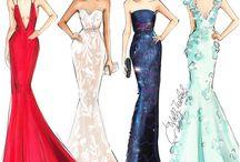 Projekty sukienek