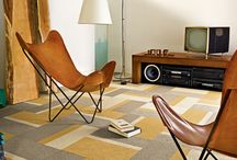 New 1970s / Anyone else crazy about 1970s, or is it just me? (I think at least the carpet tile designers are, too).