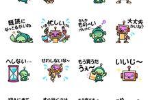 Stickers (kawaii e vari)