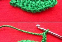 hojas crochet irlandes