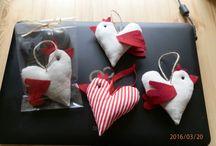 mé výrobky / šití