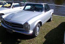 Mercedes Benz / Vários modelos da estrela de três pontas