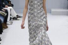 Black and white / fashion trend